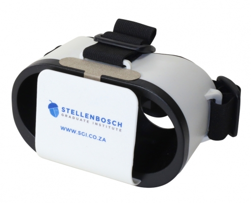 Stellenbosch branded Goggles VR headset