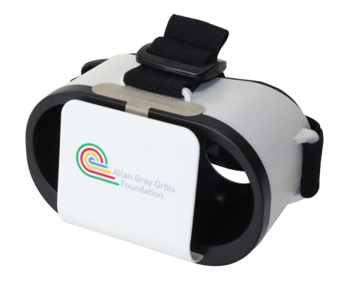 Allan Gray branded Goggles VR headset