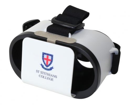 St. Stithians branded Goggles VR headset