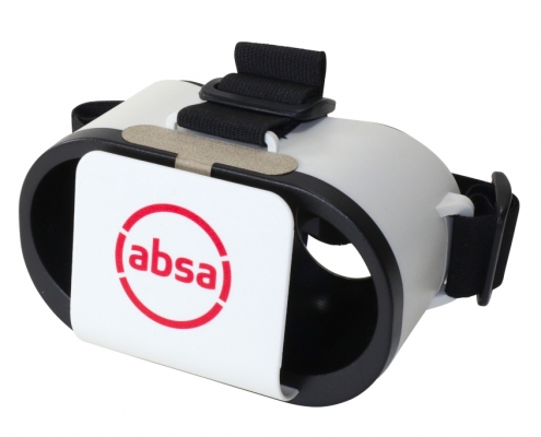 Absa branded Goggles VR headset