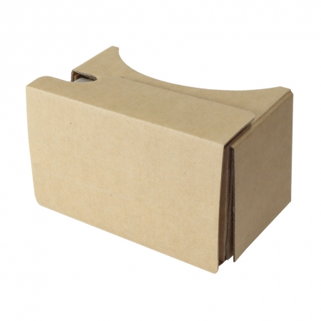 Google Cardboard virtual reality glasses