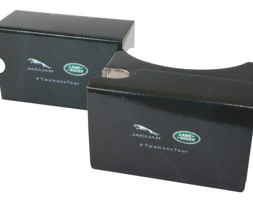 Jaguar Land Rover Google Cardboard