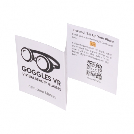 Goggles VR instruction manual