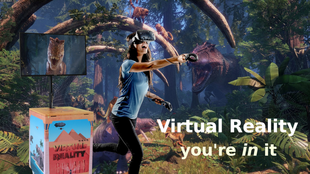 VR You're in it